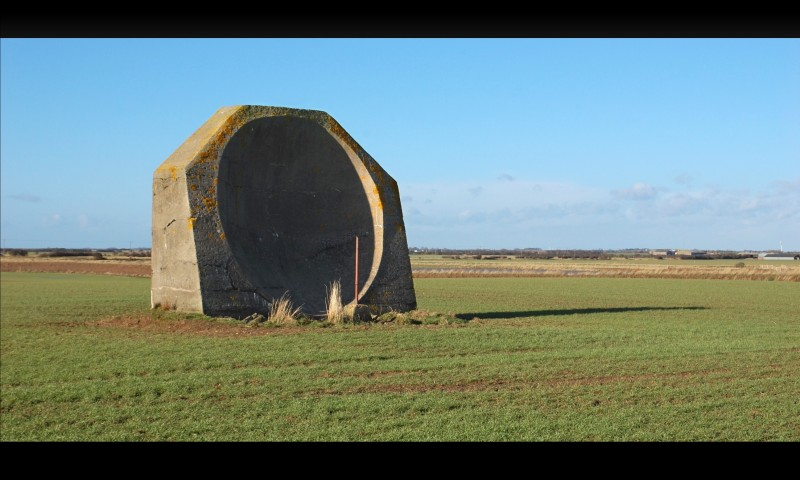 Kilnsea Sound Mirror
