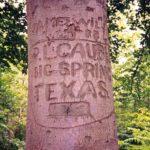 GI's graffiti, Saint Pierre de Varengeville-Duclair forest