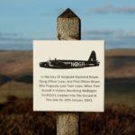 Wellington bomber R1011 on Bleaklow, Peak District.