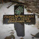 Fiona McWilliam memorial (Cessna Skyhawk G-BXLJ) on Moel Sych, Wales.