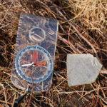 Piece of Perspex found at crash site of Mustang AP208
