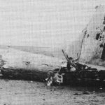 Wreckage of B17 42-31581