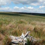 Boulton-Paul Defiant N1766 on Rowlee Pasture, Peak District.