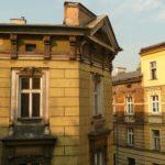 View from hotel window, Kazimierz, Krakow.