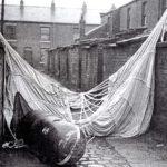 Parachute mine, Oldham.