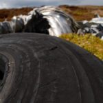 Dunlop tyre of crashed Gloster Javelin FAW 5 XA662