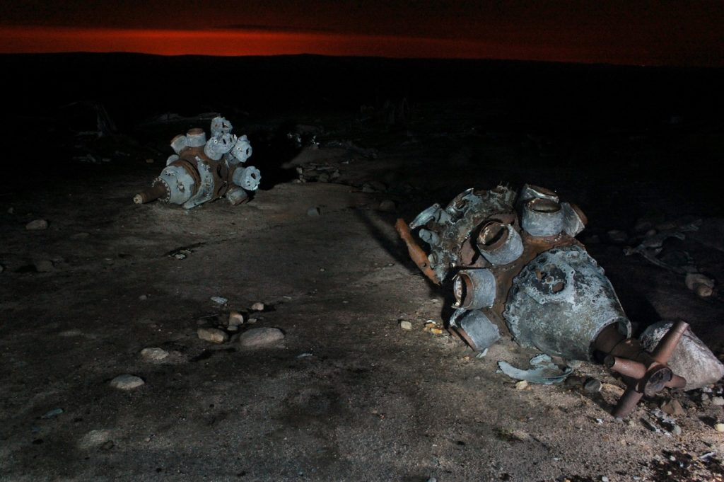 Over Exposed on Bleaklow - night shoot