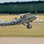 Hawker Demon K8203 landing at Duxford
