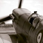 Spitfire Mk Vb BM597, reworked in mono