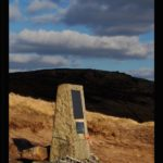 Memorial to RCAF crew of crashed Lancaster bomber KB993 on James's Thorn