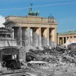 Brandenburg Gate, Berlin. Then & Now
