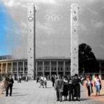 Olympic Stadium, Berlin, Then & Now.