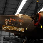 Halifax Bomber at the Yorkshire Air Museum