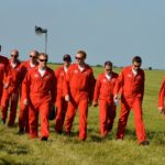 The Red Arrows – Walkpast at Waddington Airshow 2013