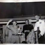 8 – Prize giving for SSM Lomas (White Jacket) CRF – Reme with hands up