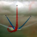 The Red Arrows at Cosford 2012