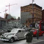 Manchester Blitz, Then & Now.