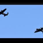 Lancaster bombers PA474 and FM213