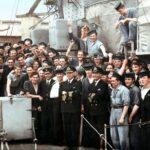 HMS Fame, Liverpool 1944 colour