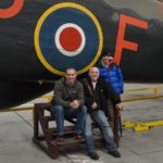 Halifax bomber LV907 'Friday 13th' at Yorkshire Air Museum