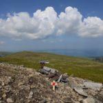 Crash site on Llwytmor, Snowdonia