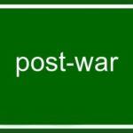 post war