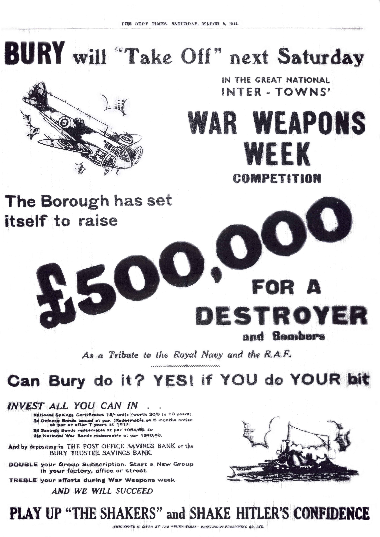 War Weapons Week.